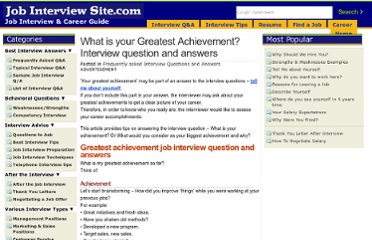 http://www.job-interview-site.com/what-is-your-greatest-achievement-interview-question-and-answers.html