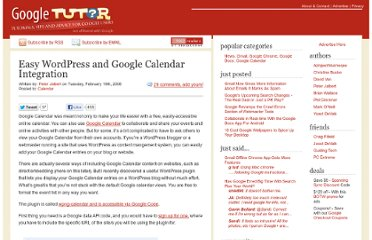 http://www.googletutor.com/easy-wordpress-and-google-calendar-integration/