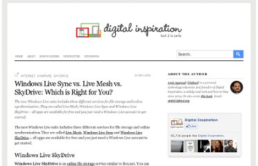 http://www.labnol.org/internet/compare-windows-live-sync-mesh-and-skydrive/6166/