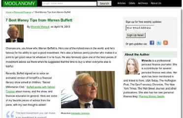 http://www.moolanomy.com/6532/7-best-money-tips-from-warren-buffett/