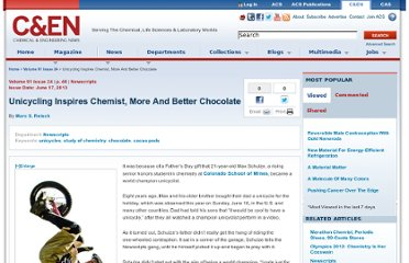 http://cen.acs.org/articles/91/i24/Unicycling-Inspires-Chemist-Better-Chocolate.html