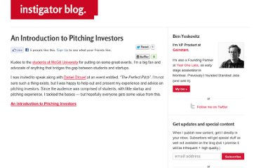 http://www.instigatorblog.com/an-introduction-to-pitching-investors/2010/03/22/