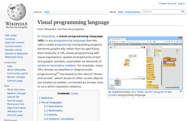 http://en.wikipedia.org/wiki/Visual_programming_language