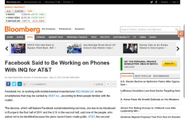 http://www.bloomberg.com/news/2010-09-23/facebook-is-said-to-be-working-with-inq-on-smartphones-that-at-t-may-carry.html