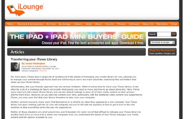 http://www.ilounge.com/index.php/articles/comments/moving-your-itunes-library-to-a-new-hard-drive/