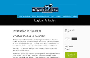 http://www.theskepticsguide.org/resources/logicalfallacies.aspx