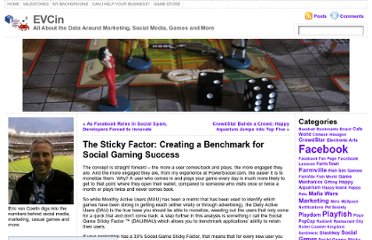http://www.voncoelln.com/eric/2009/10/28/the-sticky-factor-creating-a-benchmark-for-social-gaming-success/
