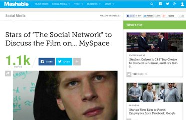 http://mashable.com/2010/09/24/social-network-movie-myspace/