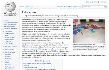 http://fr.wikipedia.org/wiki/%C3%89ducation