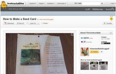 http://www.instructables.com/id/How-to-Make-a-Seed-Card/