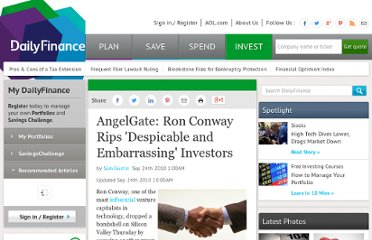 http://www.dailyfinance.com/story/media/angelgate-ron-conway-rips-despicable-and-embarrassing-investo/19646875/