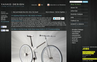 http://www.yankodesign.com/2010/09/24/15-amazing-bicycles-for-the-future-of-seoul/