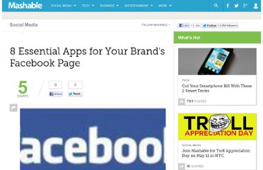 http://mashable.com/2009/05/13/facebook-brand-apps/