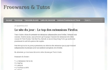 http://freewares-tutos.blogspot.com/2010/09/le-site-du-jour-le-top-des-extensions.html