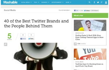 http://mashable.com/2009/01/21/best-twitter-brands/