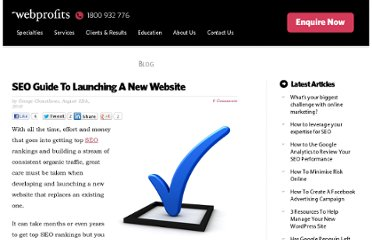 http://www.webprofits.com.au/blog/seo-guide-launching-website/#