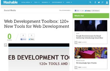 http://mashable.com/2008/11/01/web-development-tools/