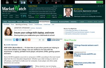 http://www.marketwatch.com/story/insure-your-college-kids-laptop-and-more-2010-09-15