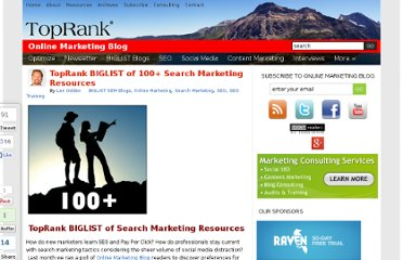 http://www.toprankblog.com/2009/09/100-ways-learn-search-marketing/