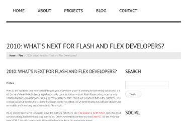 http://jessewarden.com/2010/09/2010-whats-next-for-flash-and-flex-developers.html