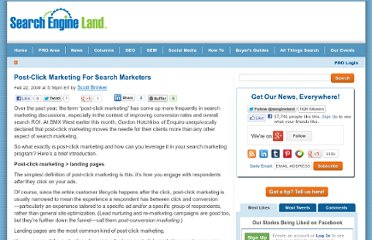 http://searchengineland.com/post-click-marketing-for-search-marketers-16587