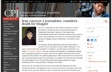 http://cpj.org/2010/09/iran-convicts-2-journalists-considers-death-penalt.php