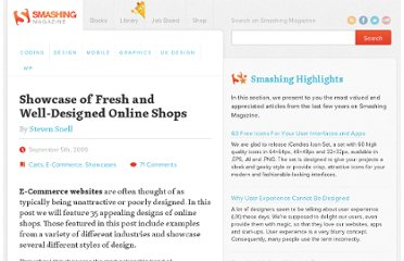 http://www.smashingmagazine.com/2009/09/05/showcase-of-fresh-and-well-designed-online-shops/