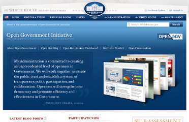 http://www.whitehouse.gov/open