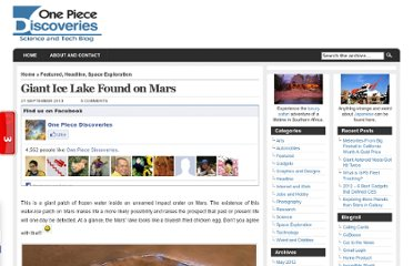http://www.watchonepiecepoint.com/2010/09/giant-ice-lake-found-on-mars/
