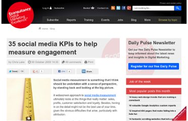 http://econsultancy.com/blog/4887-35-social-media-kpis-to-help-measure-engagement