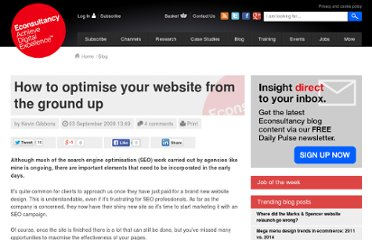 http://econsultancy.com/blog/4547-how-to-optimise-your-website-from-the-ground-up