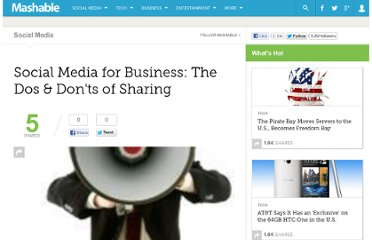 http://mashable.com/2009/02/27/social-media-for-business-2/