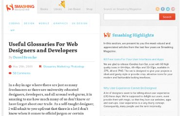 http://www.smashingmagazine.com/2009/05/29/useful-glossaries-for-web-designers-and-developers/