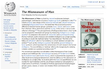 http://en.wikipedia.org/wiki/The_Mismeasure_of_Man
