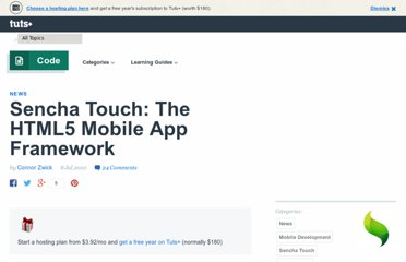 http://mobile.tutsplus.com/articles/news/sencha-touch-html5-mobile-framework/