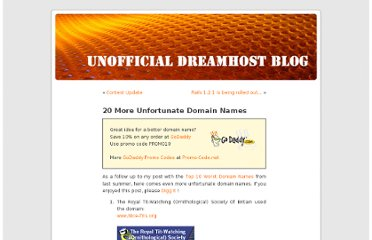 http://blog.dreamhosters.com/2007/01/26/20-more-unfortunate-domain-names/