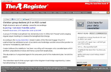 http://www.theregister.co.uk/2010/09/27/m25_curse/