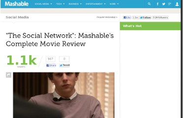 http://mashable.com/2010/09/28/the-social-network-review/