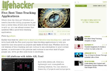 http://lifehacker.com/5362829/five-best-time+tracking-applications
