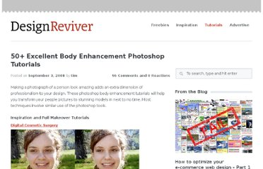 http://designreviver.com/tutorials/50-excellent-body-enhancement-photoshop-tutorials/