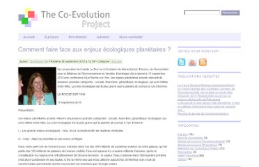 http://co-evolutionproject.org/index.php/2010/09/comment-faire-face-aux-enjeux-ecologiques-planetaires-2/