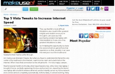 http://www.makeuseof.com/tag/top-5-vista-tweaks-to-increase-internet-speed/