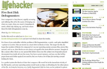 http://lifehacker.com/5348638/five-best-disk-defragmenters