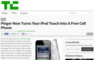 http://techcrunch.com/2010/09/28/ipod-touch-calls-pinger/
