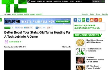http://techcrunch.com/2010/09/28/better-boost-your-stats-gild-turns-hunting-for-a-tech-job-into-a-game/
