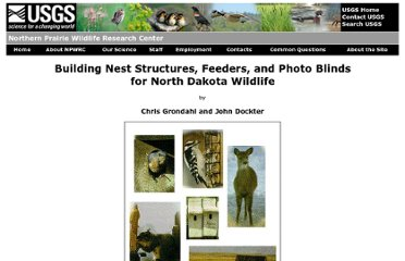 http://www.npwrc.usgs.gov/resource/wildlife/ndblinds/index.htm