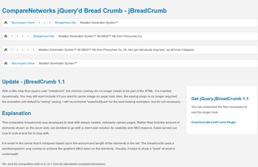 http://www.comparenetworks.com/developers/jqueryplugins/jbreadcrumb.html