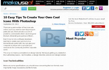 http://www.makeuseof.com/tag/tips-tricks-create-coolest-photoshop-icons/