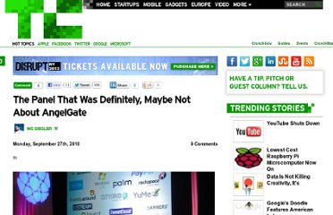 http://techcrunch.com/2010/09/27/the-panel-thats-definitely-maybe-not-about-angelgate/