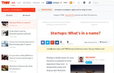 http://thenextweb.com/entrepreneur/2010/09/23/startups-whats-in-a-name/
